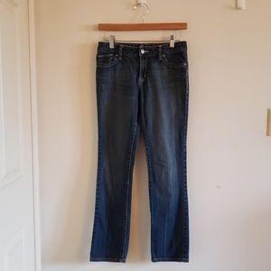 Old navy skinny blue jeans